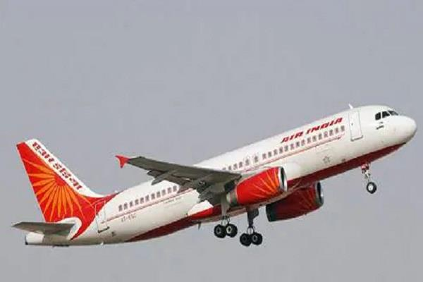 air india flight from delhi to jaipur caught fire all passengers safe