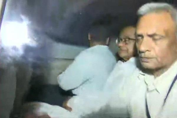inx media case cbi arrests p chidambaram after high voltage drama