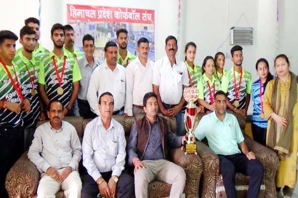 national senior korfball winner team