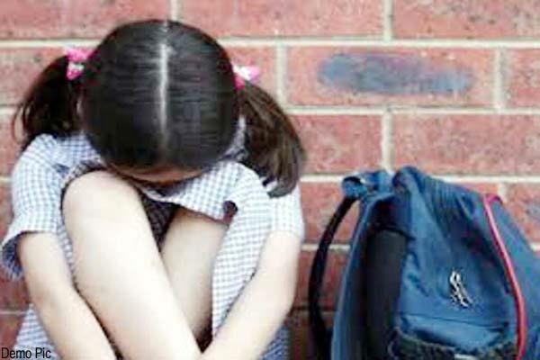 teacher beating the school girl