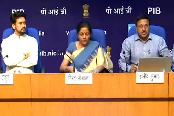 highlights of announcements made by finance minister to increase economic growth