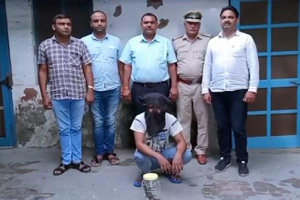 wanted miscreant of gujarat police arrested in haryana