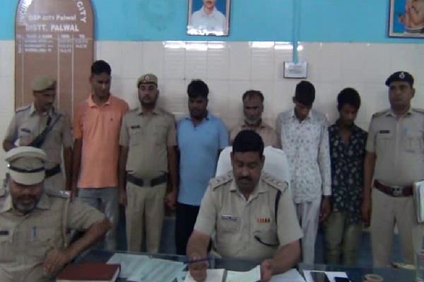 atm robber arrested in palwal