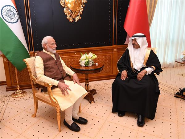 india bahrain sign agreements on space technology cultural exchange