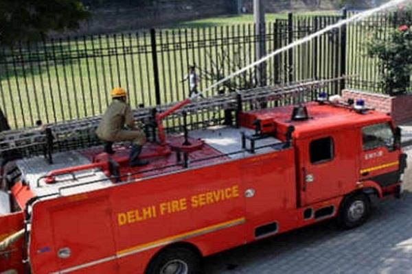 fire in delhi women s commission office many documents burnt to ashes