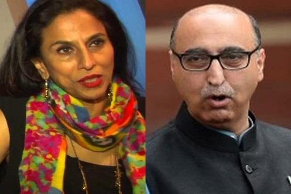 shobhaa dey spoke on basit s aronpo trying to discredit me and india