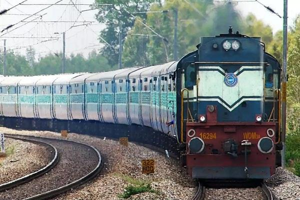 no charges will be missed on the cancellation of trains to go to kashmir