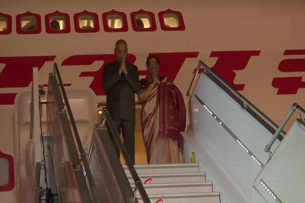 president ram nath kovind leaves for three countries visit