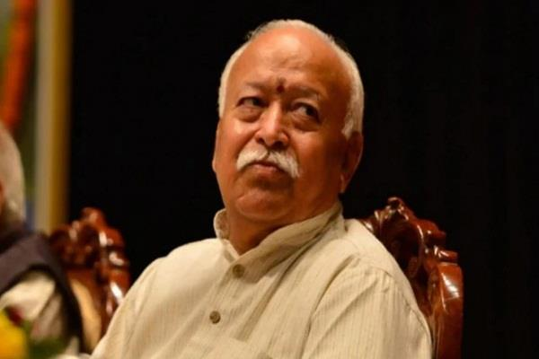 mohan bhagwat s convoy s car hit the motorcycle the boy died