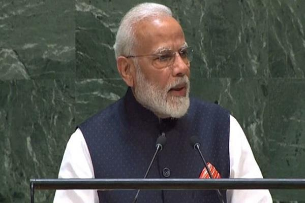 speech like global leader in unga pm modi uttered most words