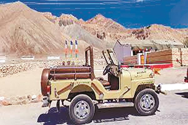 jeep snatched from pakistan in  71 war becoming war trophy