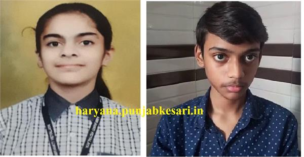 these two children of haryana will sit with pm modi will see chandrayaan 2