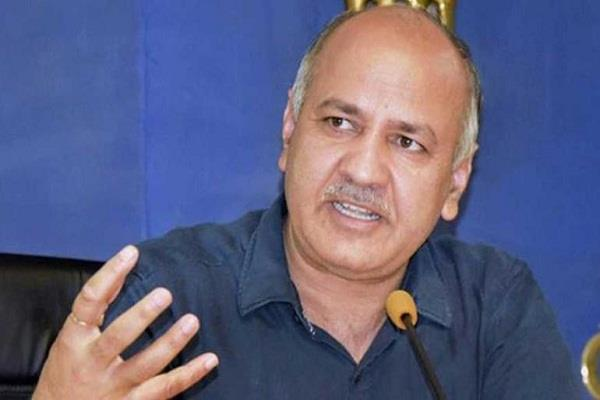 delhi will soon have its own board of education sisodia