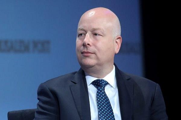 west asia peace plan official greenblatt will resign trump
