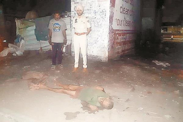 dead body found at pathankot chowk