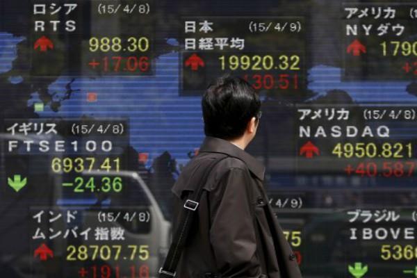 us asian market gains dow gains