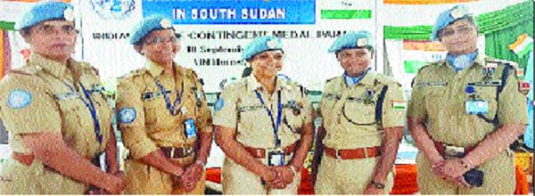 chandigarh s inspector reena honoured in sudan