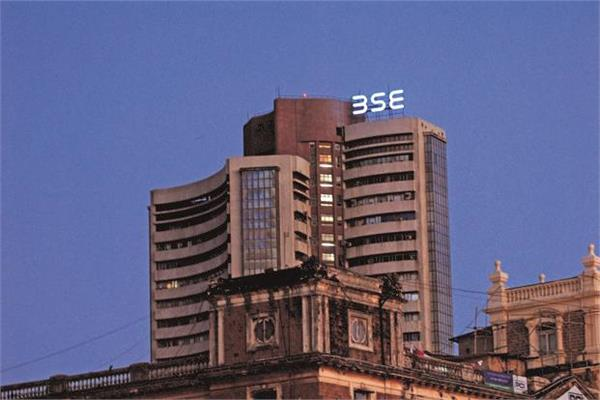 sensex dropped 249 points and the nifty opened at 10995 level