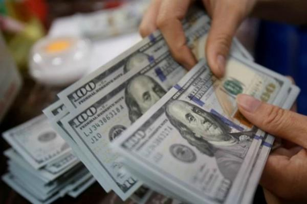 foreign exchange reserves dipped by 446 million dollar