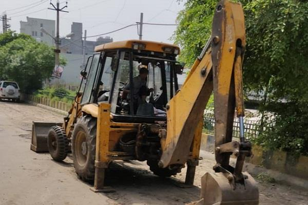 corporation to set up 30 crore rupees for new roads