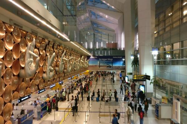 entry will be done at delhi airport by showing face from today