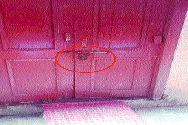 burglars lock tonde homes cctv cameras imprisoned