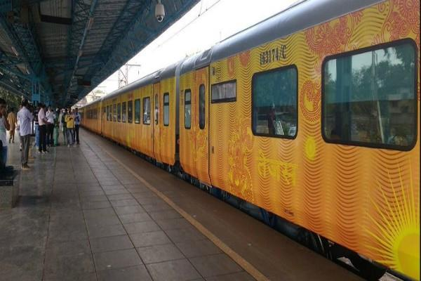 booking of country first private train tejas express starts