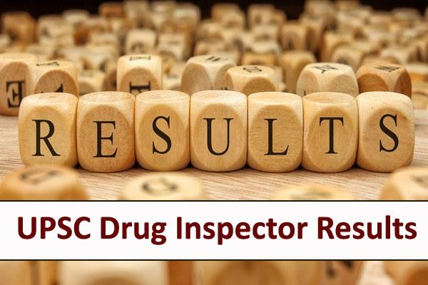 drug inspector recruitment exam 2018 final released check soon