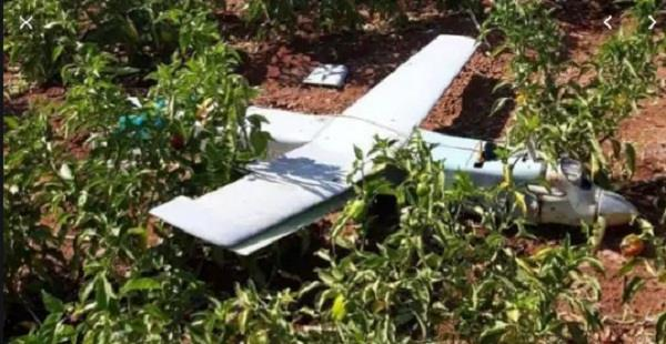 turkey shoots down unidentified drone near syrian border