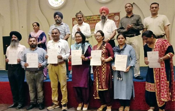 teachers who performed well honored