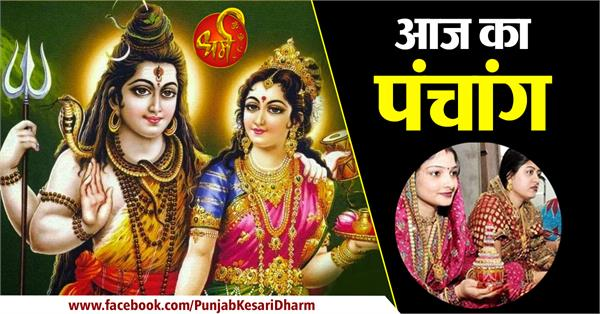 todays panchnag in hindi