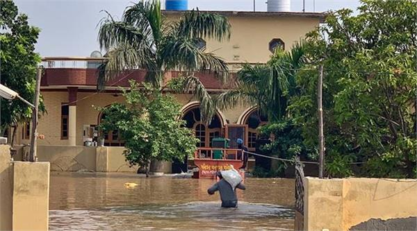 things started becoming normal in flood affected areas
