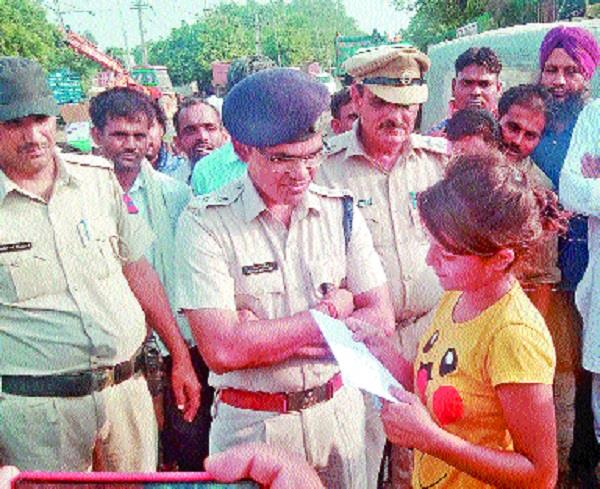 sp gave advice to follow traffic rules