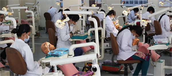 top three dental college in the country will not increase pg seats