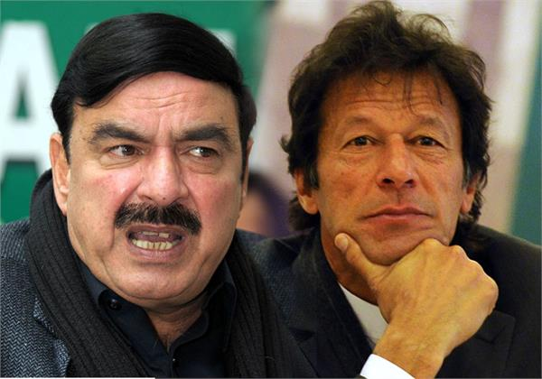 pak minister sheikh rashid says can t believe on trump on kashmir issue