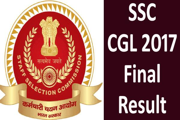 ssc cgl 2017 final result will be released on this day check the details