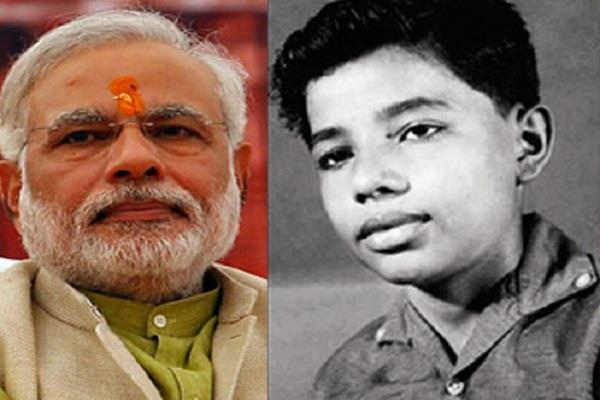 when in childhood modi took the crocodile child and brought it home