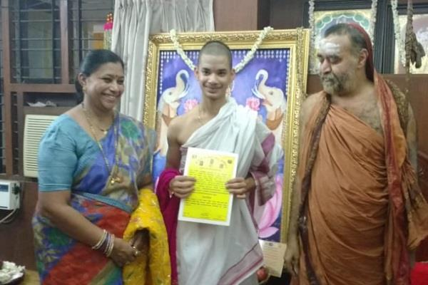 16 year old priyavrata created history by passing the tenali exam