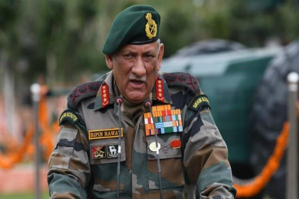 militants again active in balakot army chief