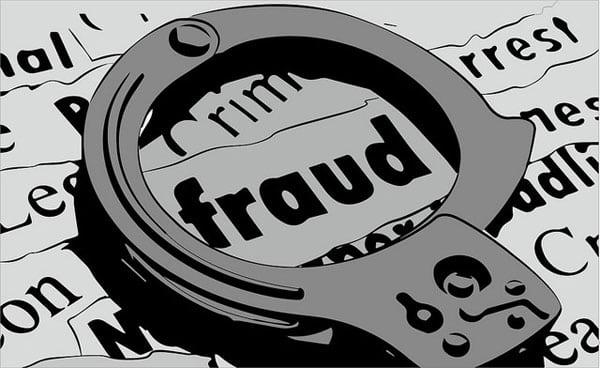 fraud of millions by fraudulent job