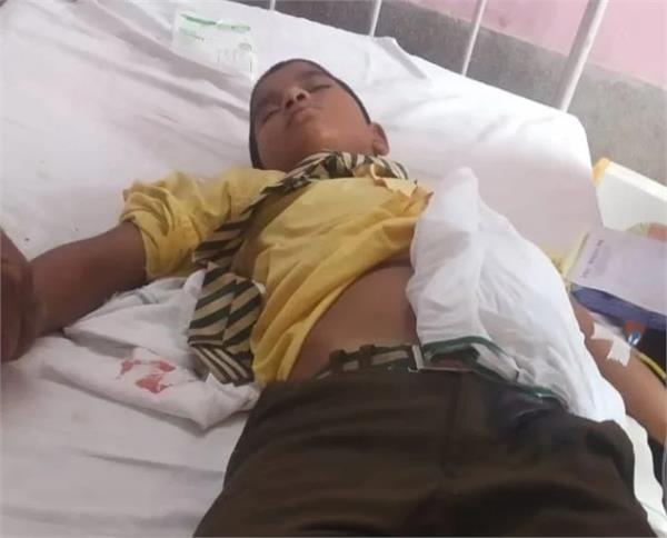 8 year old child stabbed fourth grade student
