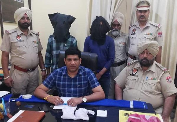 police arrest 2 with drug powder