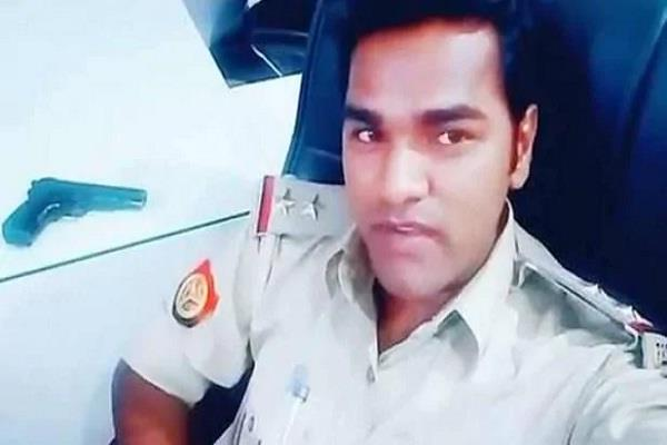 tik tok video viral of lucknow police