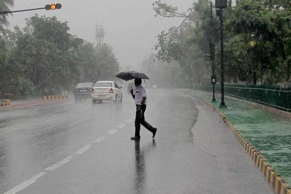 alert of heavy rains in 10 states of the country