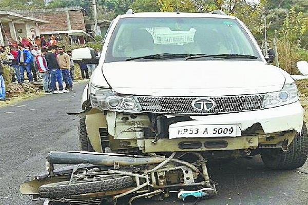 case filed against car driver accused of road accident