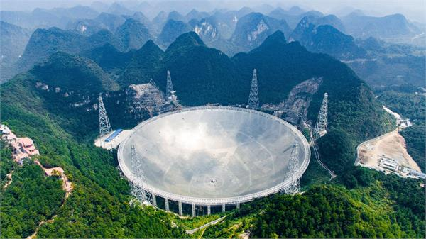 china s giant telescope picks up mysterious signals from deep space