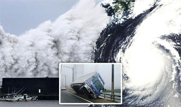 powerful typhoon faxai wreaks havoc on tokyo