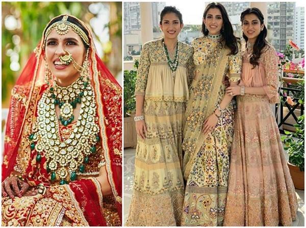 Throwback Pics: शादी के 6 महीने बाद सामने आई श्लोका की अनदेखी वेडिंग फोटोज
