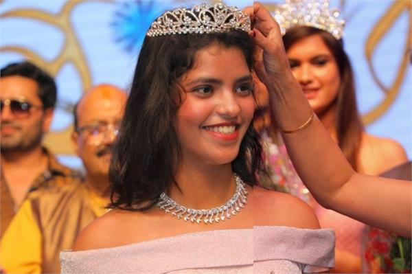 akshita mishra of gorakhpur gets the crown of miss teen india 2019