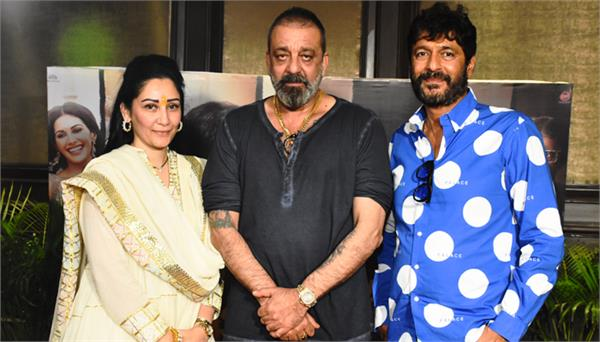 exclusive interview prassthanam starcast sanjay dutt and maanayata dutt